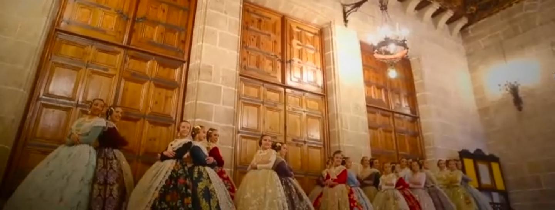 Falleras Mayores de Valencia y Cortes de Honor 2019.