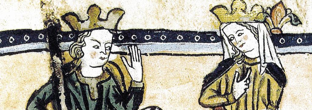 Violante de Hungría, primera reina cristiana de Valencia.